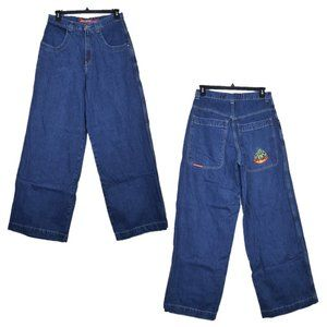 Vintage JNCO Buddha Baggy Fit Jeans RARE 32x35